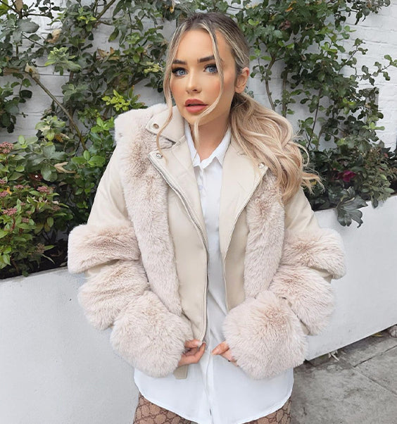 Niamh in fur