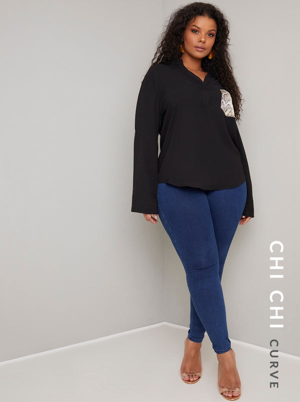 Chi Chi Curve Hollie Top