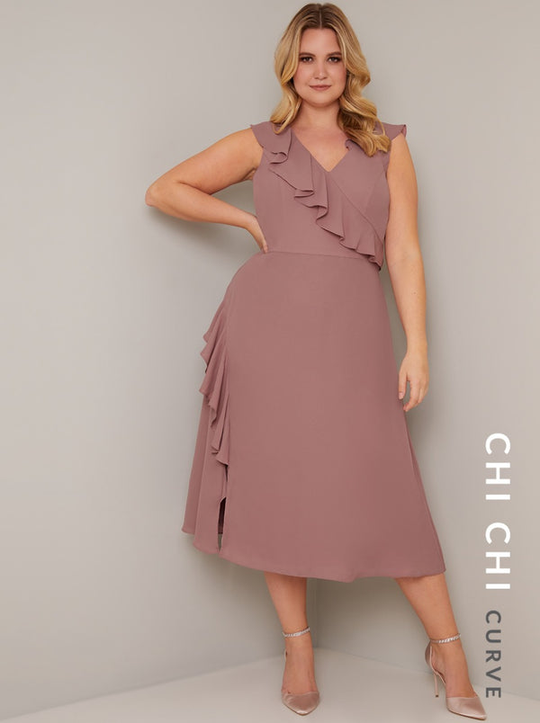 Chi Chi Curve Kai Dress