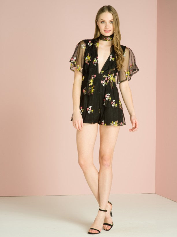 Chi Chi Haven Playsuit