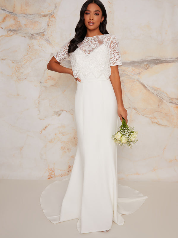 Chi Chi Petite Bridal Hayley Dress
