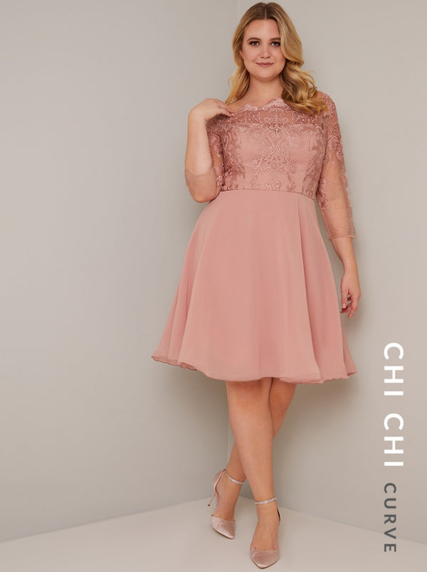 Chi Chi Curve Genisis Dress
