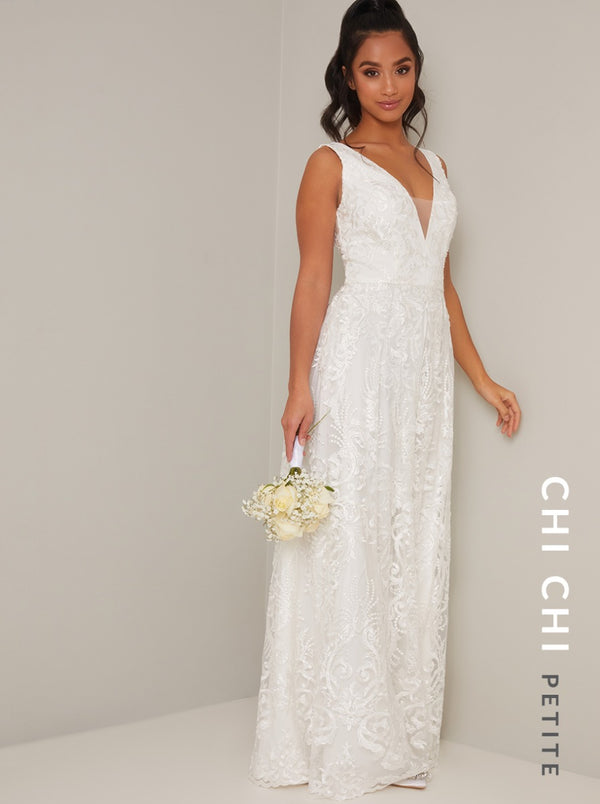 Chi Chi Petite Bridal Ivy Dress