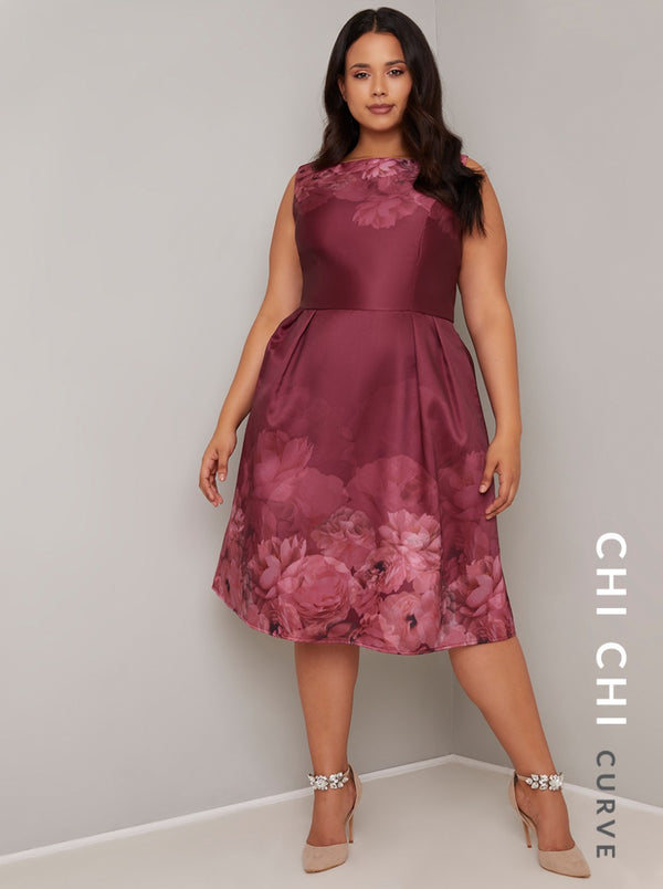 Chi Chi Curve Sady Dress