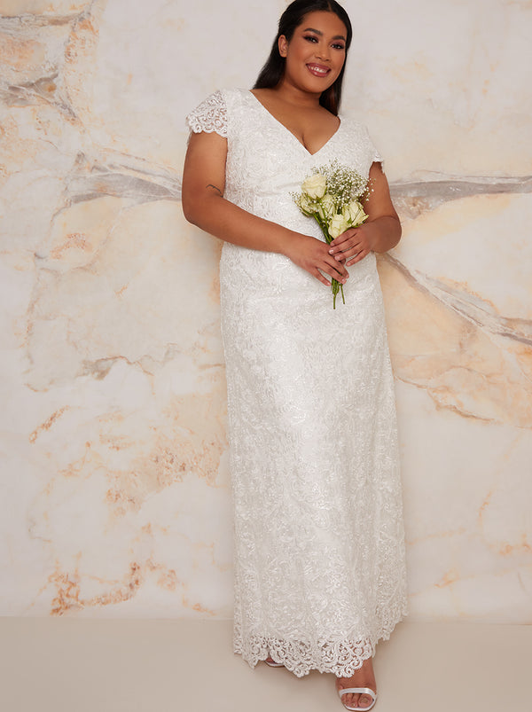Chi Chi Curve Bridal Shauni Dress