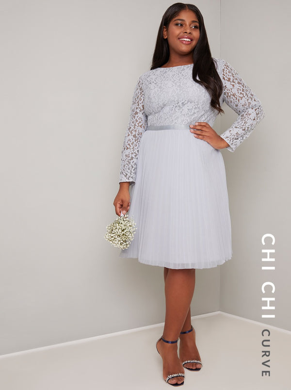 Chi Chi Curve Caprice Dress