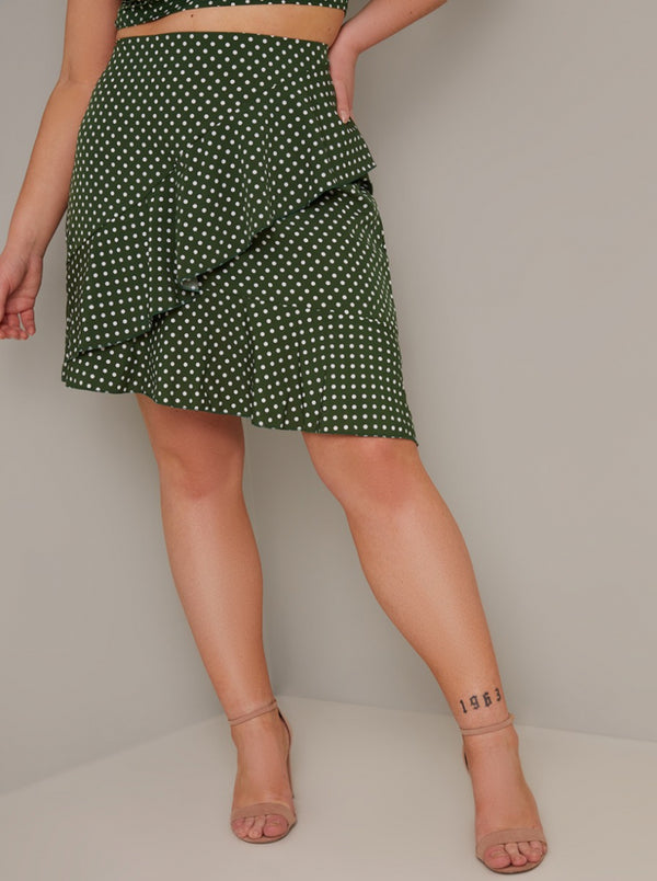 Chi Chi Curve Amelle Skirt