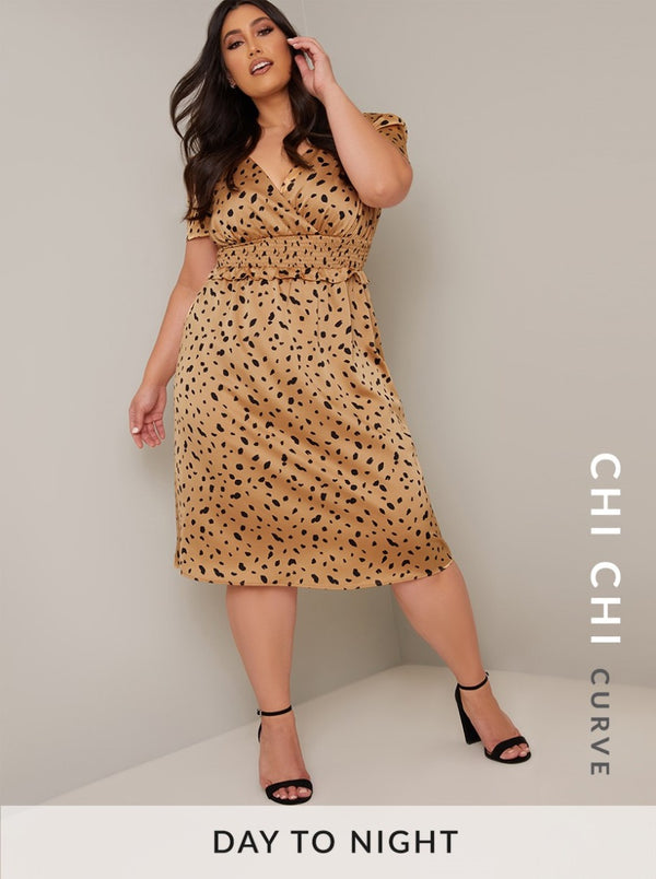 Chi Chi Curve Analyn Dress