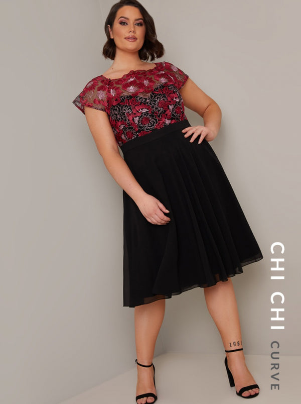 Chi Chi Curve Milya Dress