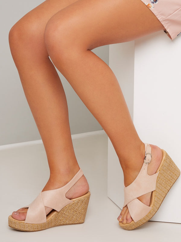 Chi Chi Rosa Wedges