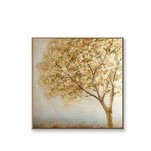 Large Tree Abstract Canvas Painting