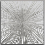 Silver Abstract Painting