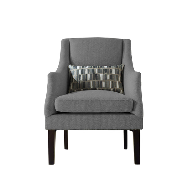 Aurora Accent Chair Charcoal Grey