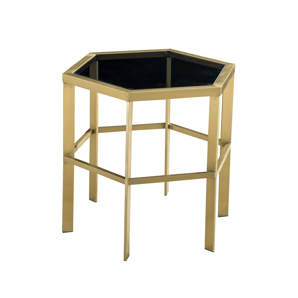 Brooklyn Lamp Table - Gold