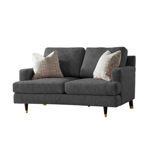 Churchill 2 Seater Charcoal Grey