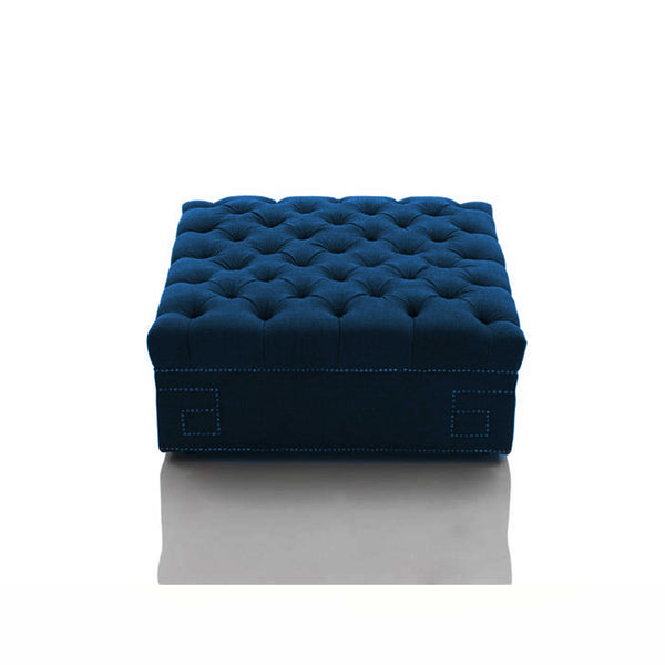 Ottoman Square Footstool