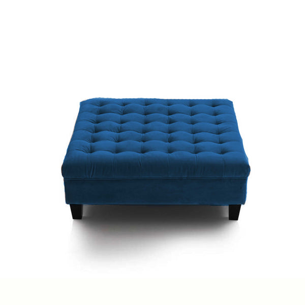 Ottoman Square Footstool with Legs