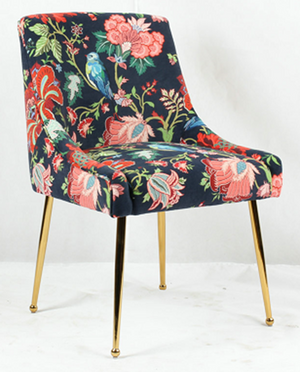 Larvik Dining Chair - Floral Print