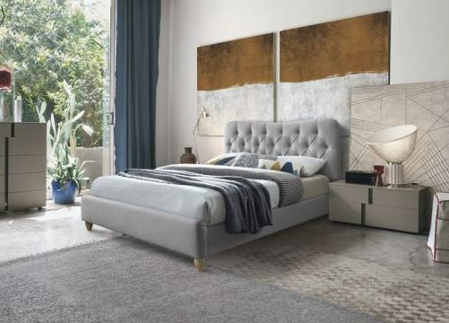 Suzie Bedframe - Cool Grey - Sizes Available