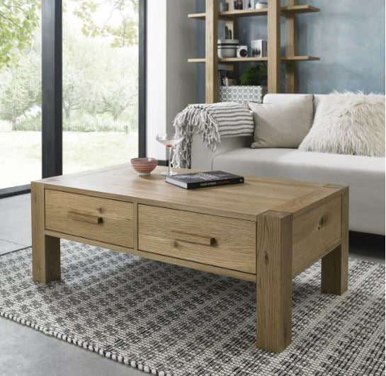 Turin Coffe Table with Drawers