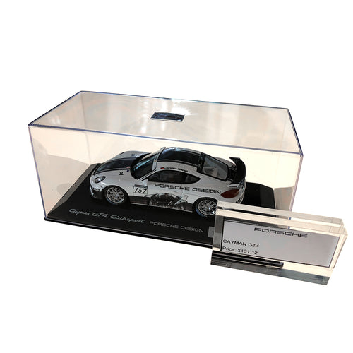 Porsche Cayman GT4 Model Car