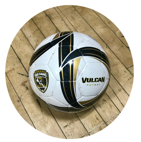 Vulcan futsal white ball