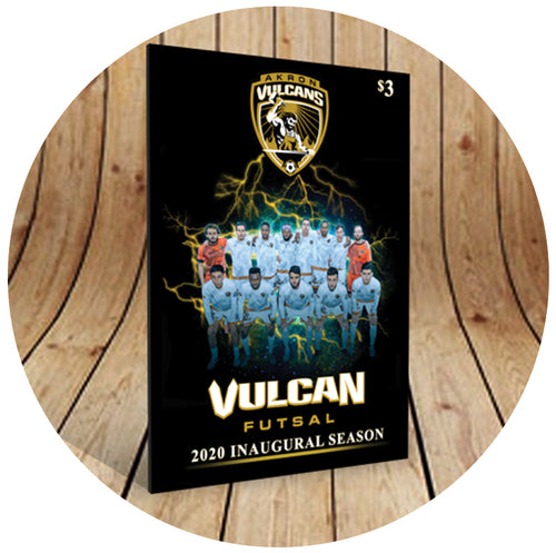 2020 Akron Vulcans Commemorative Program