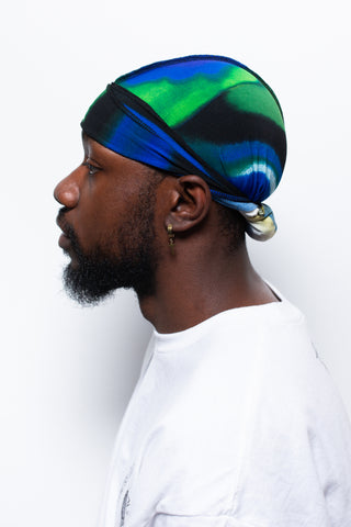 Ocean Wave Crown Durag
