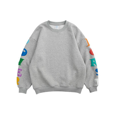 Sweatshirt streetwear avec inscriptions - POWER