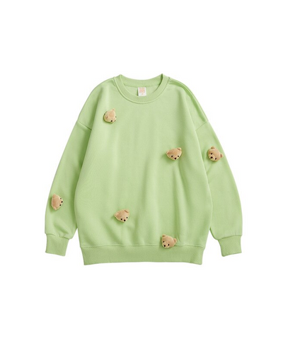 GRAPHIC SWEATSHIRT - TEDDY BEAR