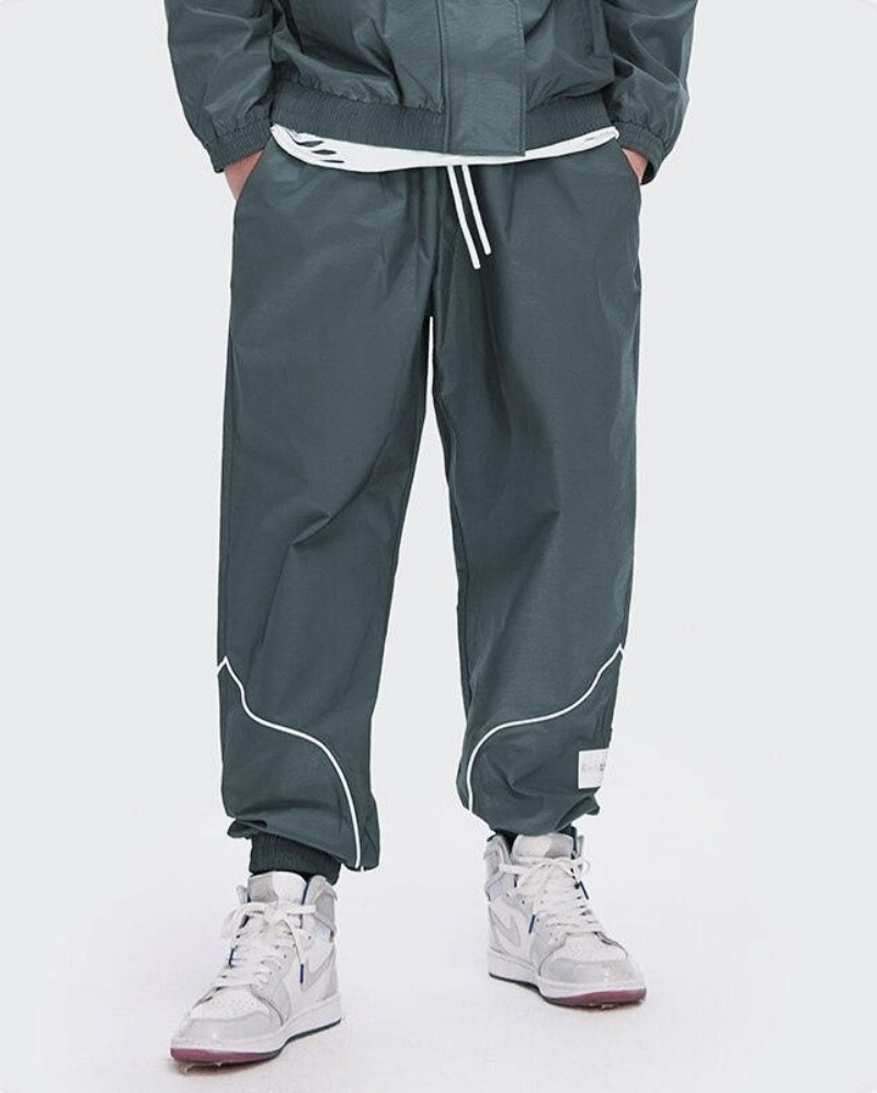 Pantalon tracksuit refléchissant - PEACE OF THE WORLD