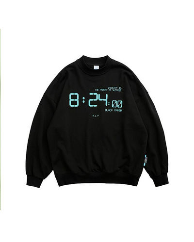 REFLECTIVE SWEATSHIRT - O'CLOCK