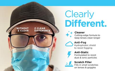 Anti Fogging Spray | Lens Cleaning Wipes