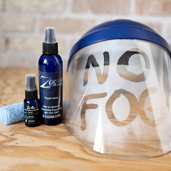 Cleaning Face Shields, Helmets, Visors | Best Anti Fog Spray Solution for Cleaning Glass