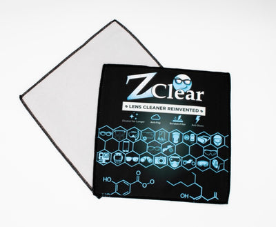 "Best MicroFiber Cleaning Cloth for Glasses 8""x8"" - Z Clear Premium Lens Cleaner & Anti Fog"