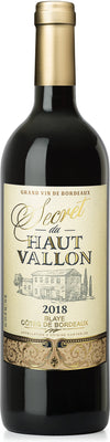 Secret Du Haut Vallon 2018-Kosher Wine-Kosher-wine.eu