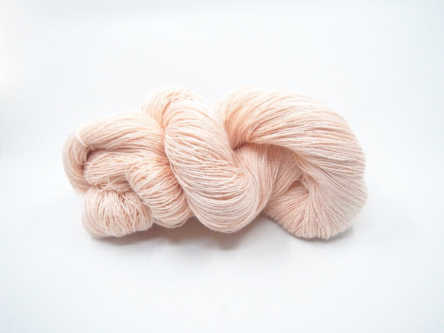 Rose Cotton Yarn - Undyed