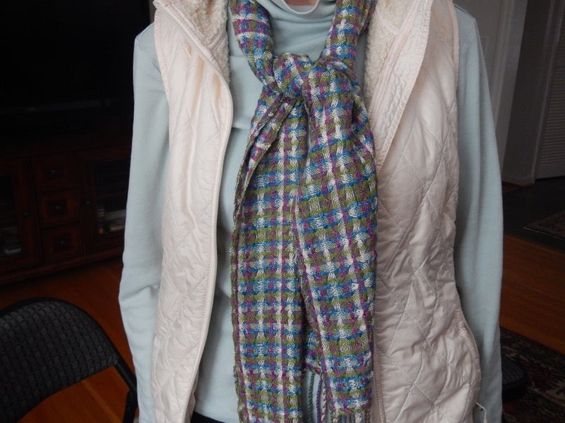 Gallery Item - Deflected Double Weave Scarf