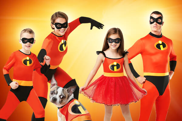 Incredibles costumes