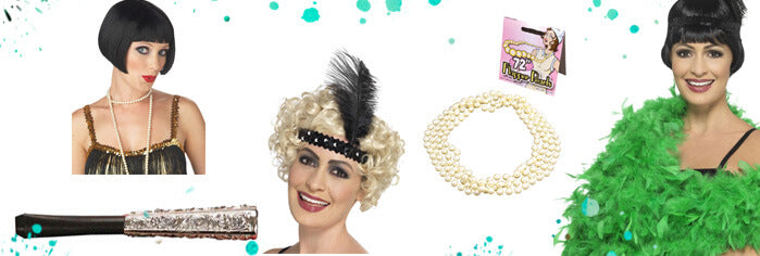 Flapper Girl accessories