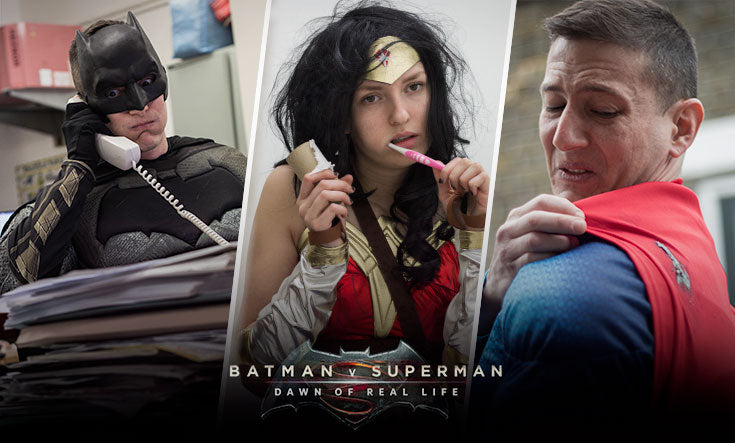 Batman V Superman - Dawn of Real Life