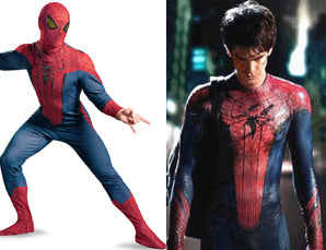 New Amazing Spider-Man Fancy Dress Costume