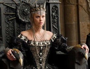 Colleen Atwood's costume designs worn by Charleze Theron in Snow White & The Huntsman