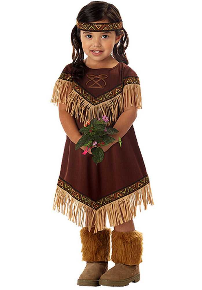 Lil' Indian Princess Costume, Toddler Size Fancy Dress
