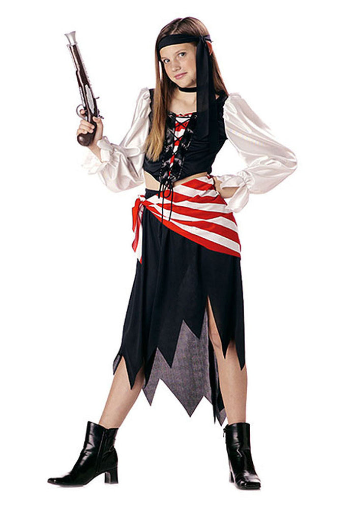 Ruby Pirate Beauty Child Costume