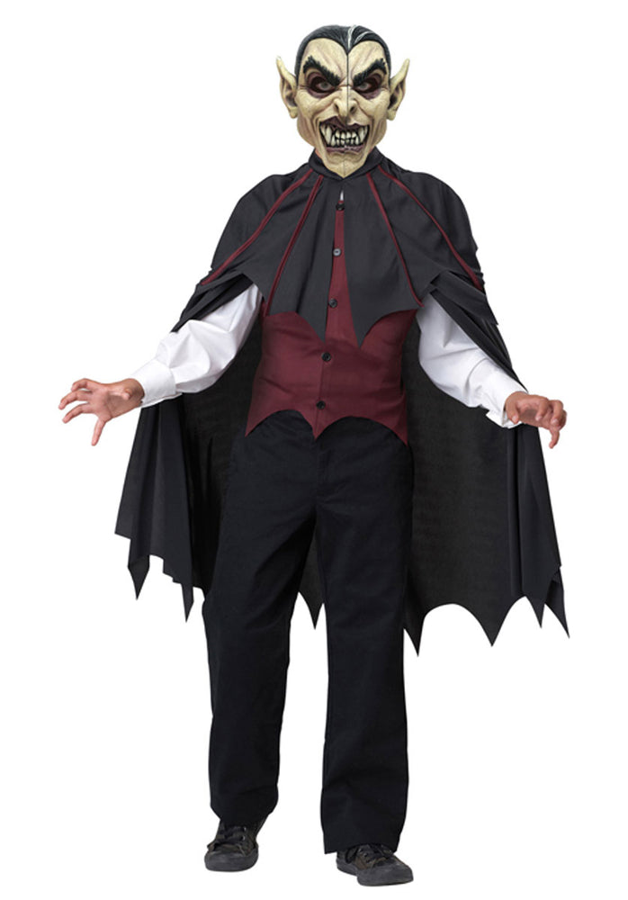 Blood Thirsty Vampire Open Masks Child Costume