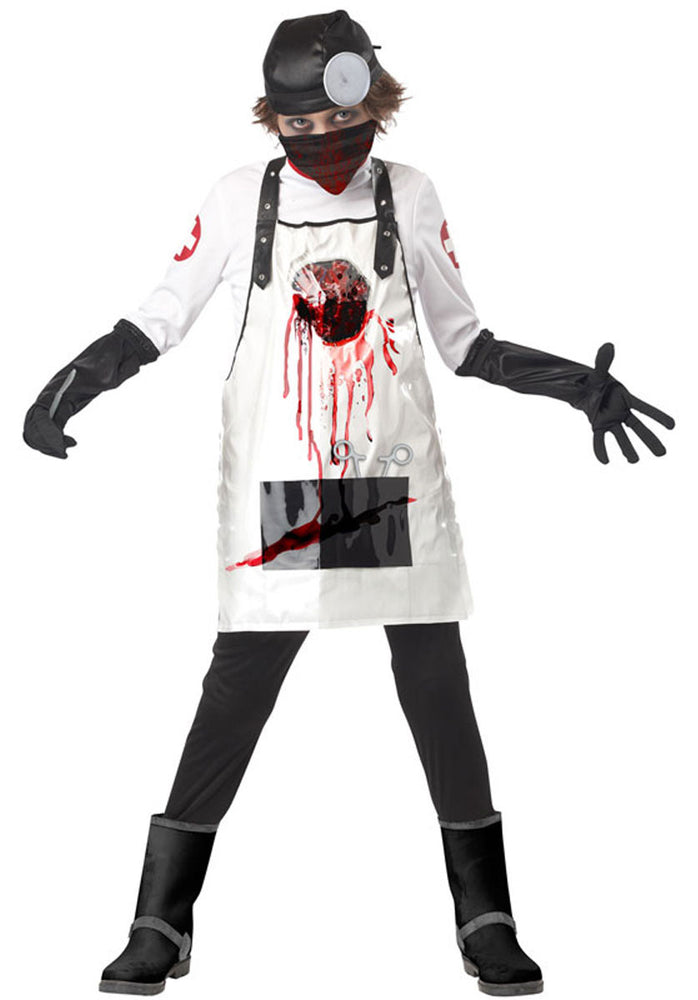 Kids Open Heart Surgeon Costume
