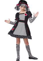 Kids Rag Doll Costume, Child Fancy Dress