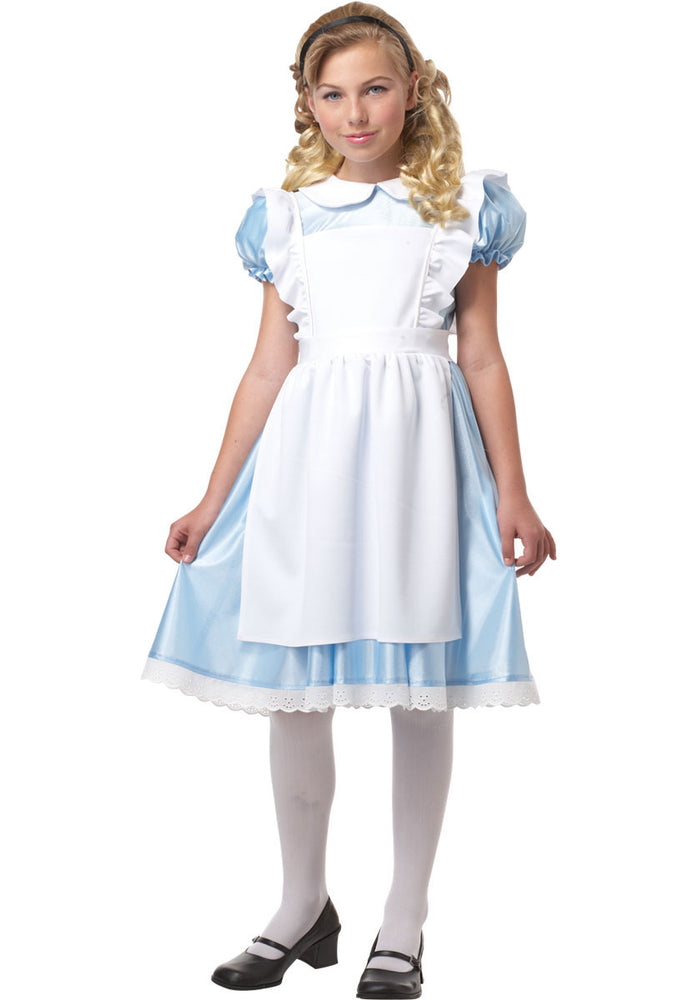 Alice in wonderland, Classic Kids Fancy Dress Costume