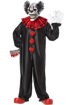 Last Laugh Clown Costume with Motion Mask